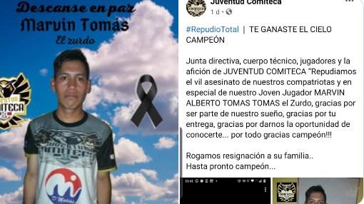 Hallan calcinado a futbolista guatemalteco en Tamaulipas