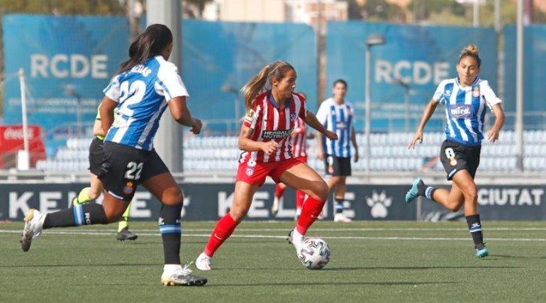 ¡Por goleada! El Atlético de Deyna Castellanos tropezó ante el Levante