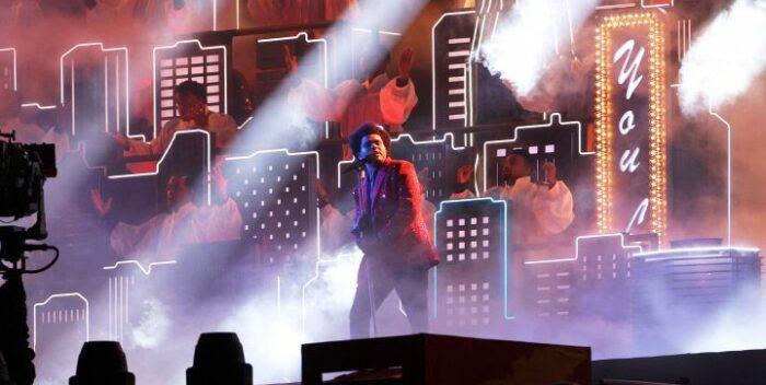 Super Bowl | Así fue el show de medio tiempo del cantante «The Weeknd»