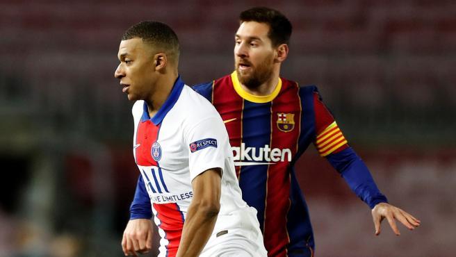 En España ya dicen que Mbappé confirma el cambio de ciclo del fútbol mundial en la cara de un Messi fantasma