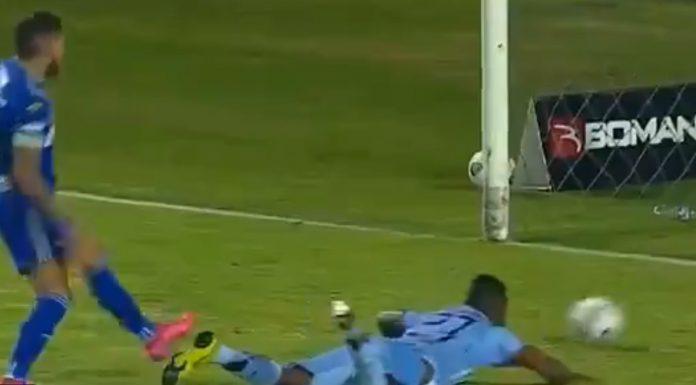 El insólito gol en Ecuador que hizo recordar a Maradona