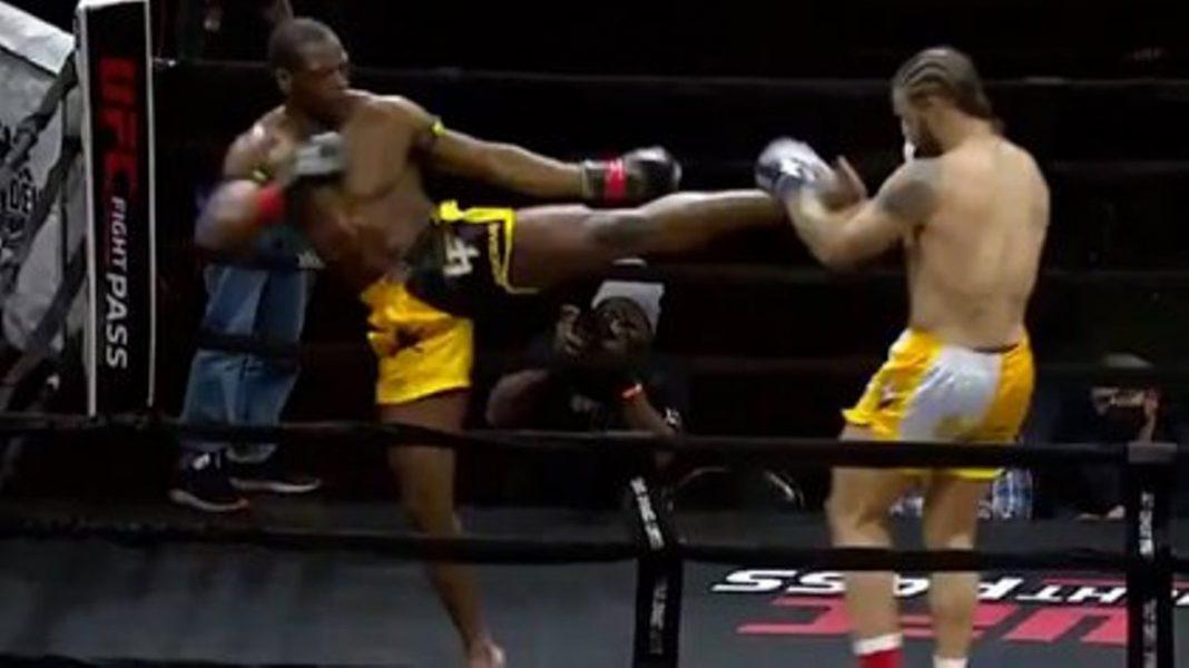 """UFC: Con patada """"tornado"""" venció a su rival en solo 48 segundos"""