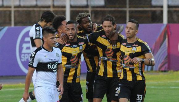 Táchira empezó la Copa con triunfo clave ante Olimpia