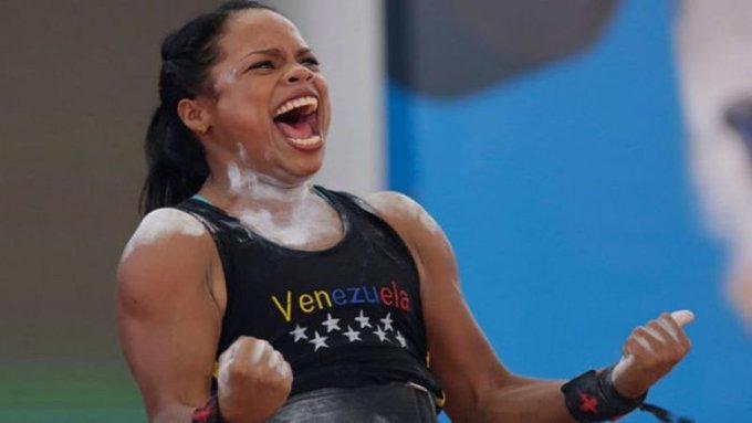 Génesis Rodríguez ganó oro y plata en el Panamericano de pesas