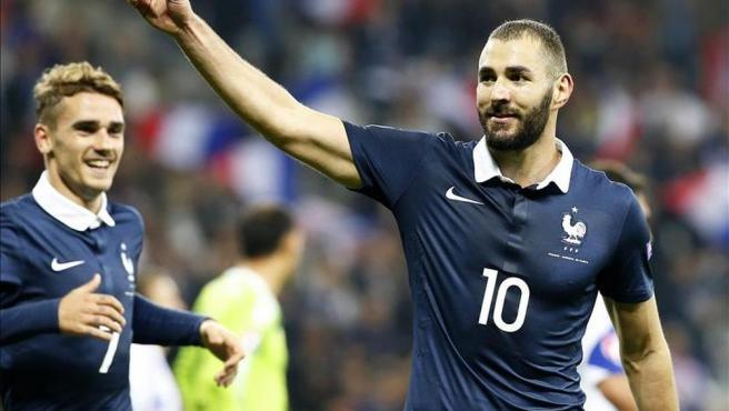 Vuelta de Benzema a selección francesa aumentó ventas de camisetas en un 2.400%