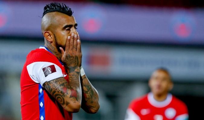 Arturo Vidal da positivo por covid-19 y no estará ante Argentina ni Bolivia