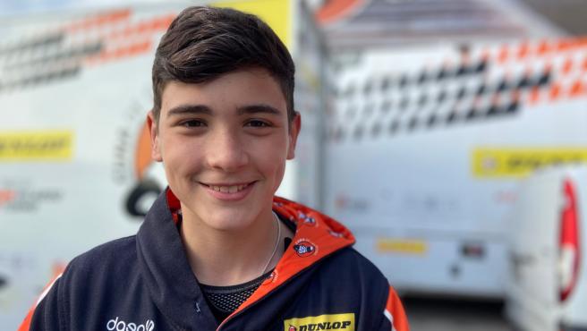 Muere el piloto Hugo Millán a los 14 años tras un accidente en la European Talent Cup