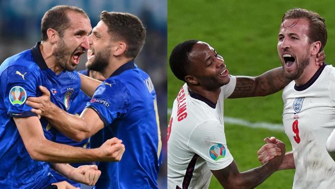 Horario y dónde ver la final de la Eurocopa 2020 entre Inglaterra e Italia